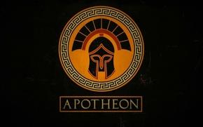 Картинка фон, игра, шлем, Apotheon