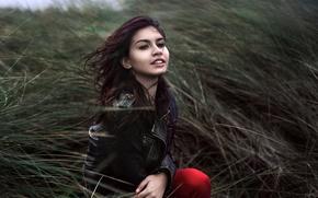 Картинка девушка, природа, портрет