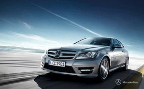 Обои Mercedes-Benz, мерседес, 0011, C204, C-class