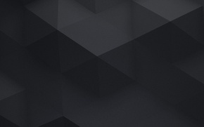 Картинка abstract, background, gray, triangles, black panel