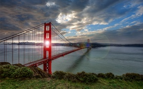 Картинка golden gate, bridge, san francisco