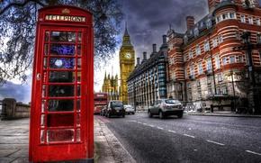 Картинка улица, Англия, Лондон, Биг-бен, street photography