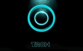 Обои диск, трон, Tron:Legacy
