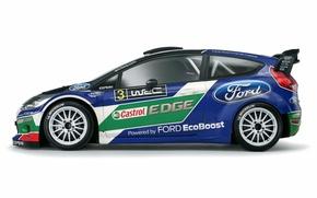 Картинка Ford, Профиль, WRC, Rally, Fiesta