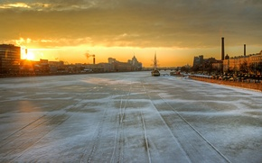 Картинка Санкт-Петербург, Нева, Февраль
