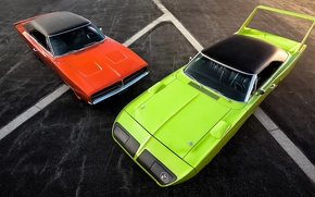 Картинка 1969, Dodge, Charger, 1970, Plymouth, Superbird