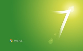 Картинка стиль, green, style, windows seven 7, computers