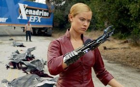 Обои Kristanna Loken, Терминатор 3: Восстание машин, Terminator 3: Rise of the Machines, Кристанна Локен, терминатор