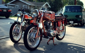 Картинка vintage, ducati, classic, supersport, 175