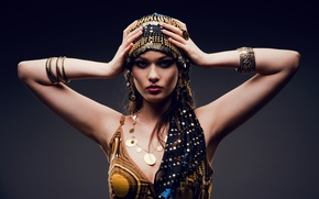 Картинка sexy, look, Arab dress