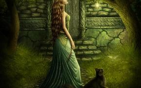 Картинка волшебство, нежность, сказка, красавица, Fairytale