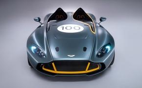 Обои aston martin, cc100, speedster, concept