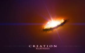 Картинка энергия, свет, вспышка, space, born of a star