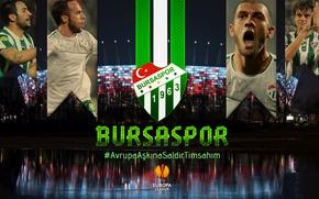 Картинка wallpaper, sport, logo, football, players, Bursaspor