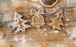 Картинка печенье, Новый год, new year, продукты питания, food, merry christmas, cookies, christmas tree, Счастливого Рождества, ...