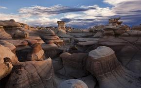 Картинка камни, пустыня, Bisti Badlands