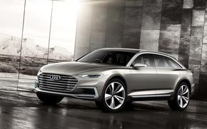Картинка Audi, ауди, Allroad, 2015, Prologue