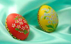 Картинка подарок, цветные, яйца, пасха, скорлупа, роспись, покраска, атрибут