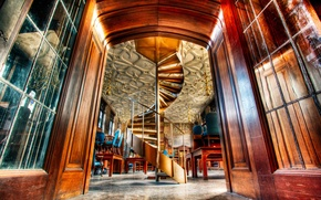Картинка лестница, чикаго, Chicago, illinois, иллинойс