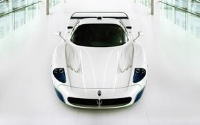 Картинка белая, supercar, мазерати, Maserati MC12