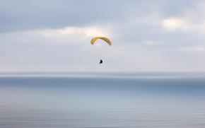 Картинка небо, спорт, парашютизм