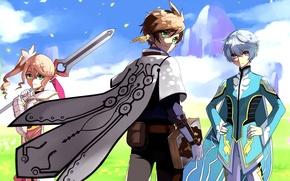 Картинка аниме, персонажи, Tales of Zestiria