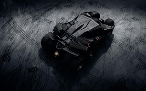 Картинка фантастика, supercar, Batmobile