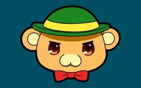 Картинка kawaii, game, bear, hat, anime, man, teddy, asian, cute, manga, japanese, oriental, asiatic, sugoi, visual …