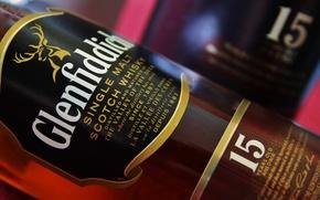 Картинка олень, Шотландия, Виски, односолодовый, single malt, glenfiddich, 15 years old