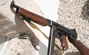 Обои Томпсона, Пистолет-пулемёт, оружие