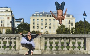 Картинка ballet, parkour, ballerina