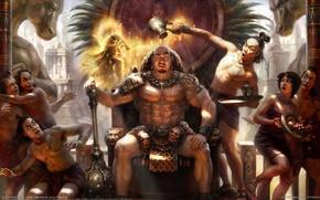 Обои Царь, alon chou, Майя, Богиня