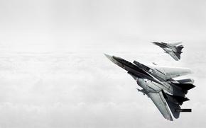 Картинка небо, самолеты, Ace Combat 5
