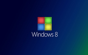 Картинка компьютер, текст, обои, цвет, логотип, эмблема, windows, операционная система, квадратик