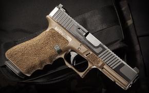 Картинка пистолет, оружие, Glock, самозарядный