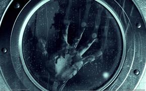 Картинка капли, дождь, игра, рука, Обитель зла, game wallpapers, Resident Evil: Revelations