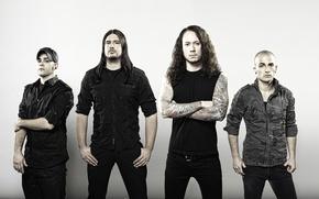 Обои группа, тату, Metalcore, thrash metal, Trivium
