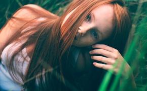 Картинка веснушки, прелесть, рыжик, Katya Kusovskaya