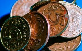 Картинка монеты, Kazakhstan, Tenge, Казахстанский тенге, тенге