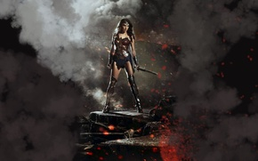 Картинка Wonder Woman, DC Comics, Gal Gadot, Diana Prince, Batman v Superman: Dawn Of Justice, Бэтмен …