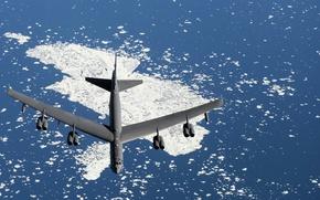 Обои оружие, B-52, армия, самолёт