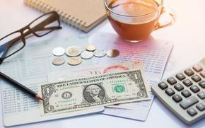 Картинка money, table, economy, value