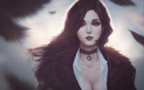 Картинка CD Projekt RED, The Witcher 3: Wild Hunt, Ведьмак 3: Дикая Охота, Yennefer, Йеннифэр