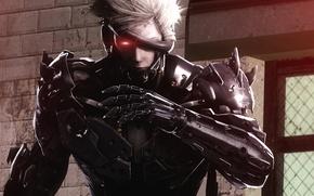 Картинка fan art, Raiden, Metal Gear Rising, Revengeance, Katana, Jack the Ripper, Cyborg Ninja