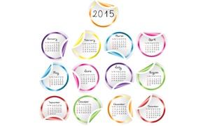 Картинка календарь, год, 2015