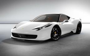 Картинка машина, тюнинг, Ferrari, феррари, 458, italia, design, италия, автообои, oakley, cуперкар