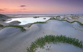 Картинка песок, море, пляж, Австралия, Квинсленд, остров Фрейзер