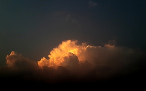 Картинка sky, sunset, cloud, suhart