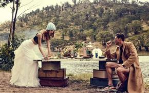 Картинка Australia, Vogue, Jimmy Young-Whitforde, retro-inspired vintage story, Ondria Hardin