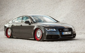 Картинка Audi, Диски, Посаженная